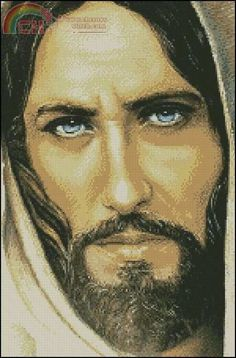 Jesus~Won't it be wonderful if He has blue eyes?