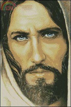 Jesus~Won't it be wonderful if He has blue eyes?