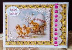 cutecrittercards. Easter card ,from the card makers year cd rom