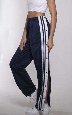Vintage Athletic Tearaway Track Pants