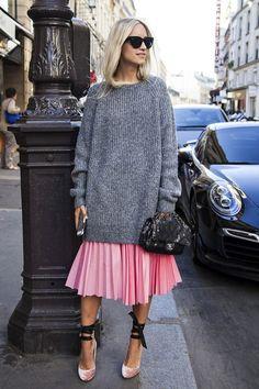 Pink pleats <3