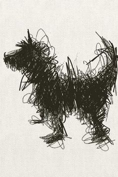 """Wirey Dog"" by Sally Muir"