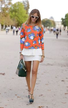 The Blonde Salad Spring Summer Fashion, Autumn Winter Fashion, Spring Style, The Blonde Salad, Zara Skirts, Got The Look, International Fashion, Zara Women, Floral