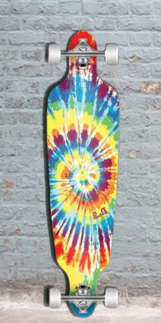"Punked Tiedye Original Drop Through Longboard 40"", $108.00 (http://longboardsusa.com/punked-tiedye-original-drop-through-longboard-40/)"