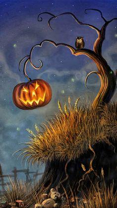 Halloween Desktop and iPhone Wallpaper