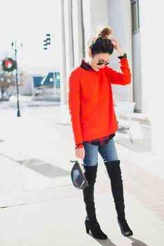 3 Ways To Wear Your Over-the-Knee Boots