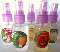 I'll have one of each!  Floral Water  Hydrosols2 fl ozU Pick by CARIBBEANSCENTS on Etsy, $6.00