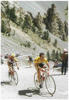 Bernard Hinault Tour de France 1986 Izoard