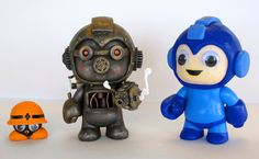 mega mans w Steampunk Megaman Custom Vinyl Figure. How To