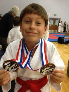 Conor Marks took 3rd in sparring and 3rd in patterns at the CTF Regional Tournament Aug. 18, 2012 in Olive Branch, MS.