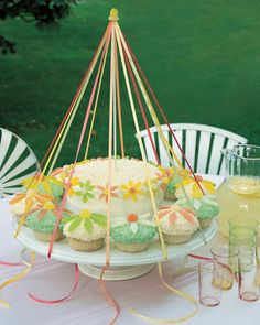No May Day celebration would be complete without a dance around the maypole; might we recommend this playful edible version.