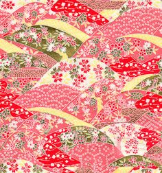 千代紙 画像 - Google 検索 Japanese Love, Japanese Paper, Japanese Fabric, Japanese Design, Pattern Paper, Fabric Patterns, Print Patterns, Chinese Patterns, Japanese Patterns