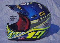 1988 Serrano Designs Bell Moto-4 Helmet of Johnny O'Mara | Flickr - Photo Sharing!
