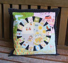 Fabric Mutt: Storytelling Pillow