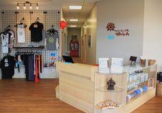Yoga Studio Reception | Ashley Cole Design