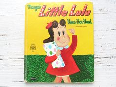 Vintage 1950's Children's Book- Little Lulu Uses Her Head