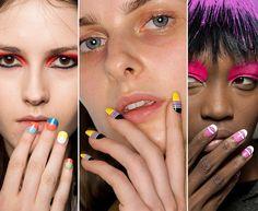 Fall/ Winter 2015-2016 Nail Trends: Colorful and Fun Nail Art #nails #nailart