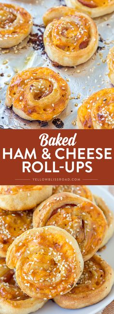 baked-ham-cheese-rol
