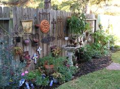 This is my fun garden wall.