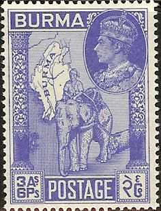 - Stamp Community Forum - Page 6 Old Stamps, Rare Stamps, British Asian, Postage Stamp Collection, Yangon, British Colonial, Burmese, Penny Black, King George