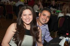Mr. Jorge Areas, a NC Interior technician, and his date for the evening, Miss Stephanie Escobar.
