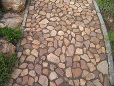 Pathways - Create A Landscape Garden Stones, Garden Paths, Garden Landscaping, Rock Pathway, Path Ideas, Garden Crafts, Garden Ideas, Garden Architecture, The Great Outdoors