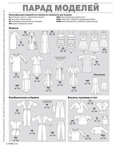 Парад моделей Burda 04/2015 / Мастер-классы / Burdastyle