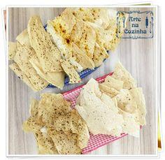 Arte na Cozinha: Lascas de polvilho - Helena Rizzo