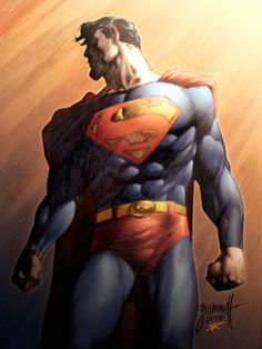 THIS is how Superman is supposed to look! Not some tee-shirt and jeans wearing ninny. DC Comics have ruined Superman...