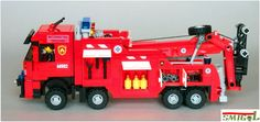 Lego Fire, Lego Truck, Lego Vehicles, Lego Projects, Lego Stuff, Lego Technic, Cool Lego, Fire Engine, Everyday Objects