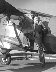 """""""...aviation's influence on fashion is pretty obvious.  Typically masculine suit silhouettes, as well as the leather jacket and jodhpur-style pants translated easily from aviatrixes to Hollywood fashion...."""""""