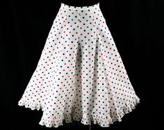 Marvelous 1950s Polka Dot Petticoat - Anne Fogarty -