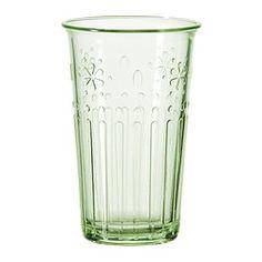 KROKETT glass, light green Volume: 13 oz Volume: 38 cl