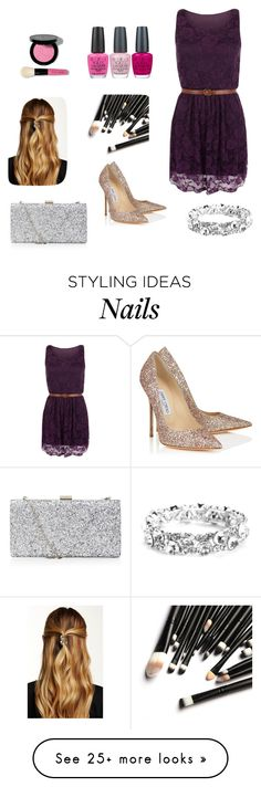 """""""Untitled #34"""" by maraarmasu on Polyvore featuring WearAll, Jimmy Choo, Natasha Accessories, Bobbi Brown Cosmetics and OPI"""