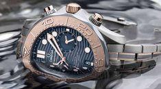 Neuer Omega Seamaster Diver Chronograph: Edelstoff für Ozeanenthusiasten und Abenteurer