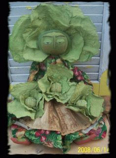 Primitive Cabbage Mama & Babies E Pattern by Rabbithollowprims, $6.00