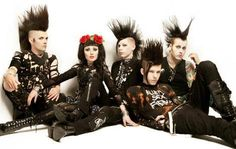 Deathrock. Goth or punk?... I'm sure they'd say neither but they certainly have roots in both.