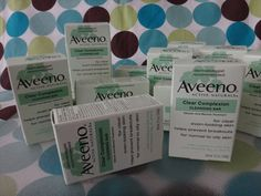 Bar Soaps: Lot Of 3 - Aveeno Active Naturals Clear Complexion Cleansing Soap Bar 3.5Oz New BUY IT NOW ONLY: $99.99