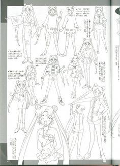Naoko Takeuchi, Toei Animation, Bishoujo Senshi Sailor Moon, Usagi Tsukino, Character Sheet