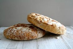 No knead bread med timian og hvitløk No Knead Bread, Recipe Boards, Muffins, Baking, Recipes, Muffin, Bakken, Ripped Recipes, Backen
