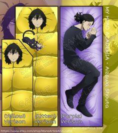 Dakimakura: Aizawa Shouta Double Sided Pillow Case Art by Aelith My Hero Academia Memes, Hero Academia Characters, My Hero Academia Manga, Hot Anime Boy, Anime Guys, Anime Meme, Body Pillow Anime, Hug Pillow, Throw Pillow