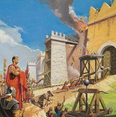 -0218 : -0202 Second Punic War Art - Assault on Carthage