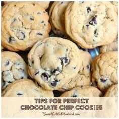 Sweet Little Bluebird: Perfect Chocolate Chip Cookies