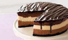 Beste Rezeptesammlung: Dreifacher schokoladen käsekuchen