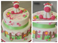 Such a cute horse cake for little girls :)