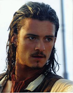 orlando bloom in pirates of the carribean! yummy!