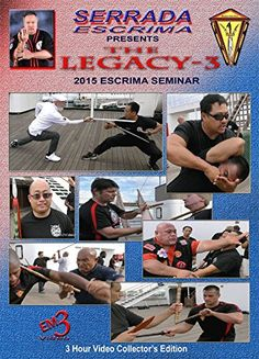 Legacy-3 Escrima Seminar (2015 Queen Mary) 3hr dvd set Val Mijailovic em3Video.com http://www.amazon.com/dp/B017HLHD04/ref=cm_sw_r_pi_dp_swjvwb1AHR6PN