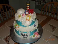 Club Penguin Birthday Cake — Birthday Cakes