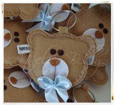 Atelier Belly: Bonequinhas e Ursinhas de feltro (Lembrancinhas de Maternidade, Nascimento, Chá de Bebê...)
