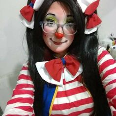Clown Pics, Cute Clown, Female Clown, Vintage Clown, Clowning Around, Folk, Clowns, Lady, Girls
